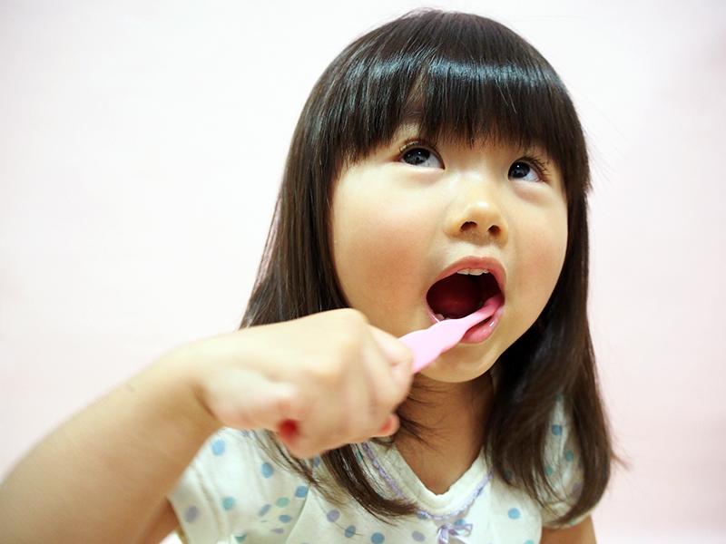 生え始めの永久歯のお子さんにおすすめします!